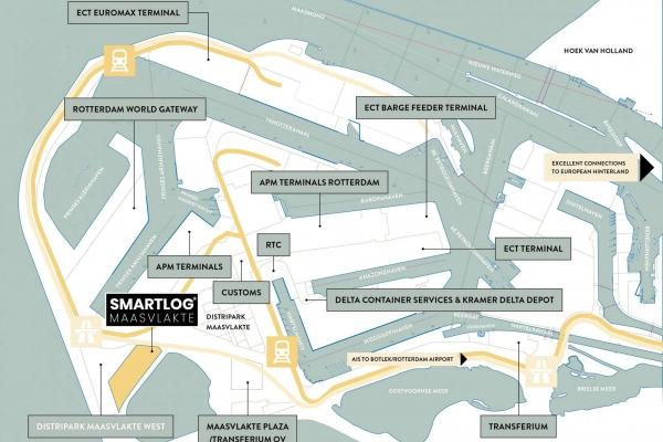 Noordzeeboulevard ong Maasvlakte Rotterdam - Noordzeeboulevard ong, Maasvlakte Rotterdam